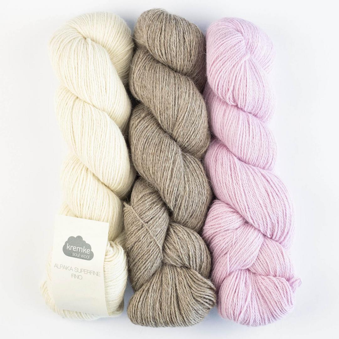 Kremke Soul Wool Alpaga 100 superfine Fino