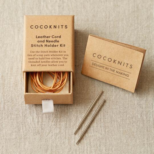 CocoKnits Kit lien en cuir et aiguille